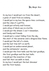 Anon poem
